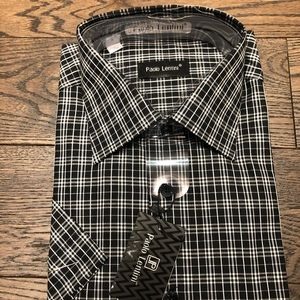 Paolo lentini dress shirt never worn with tag